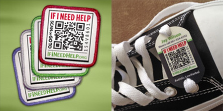patches shoe tags