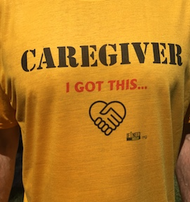 Caregiver Shirt Bold