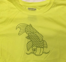 Fish Shirt Large Adult