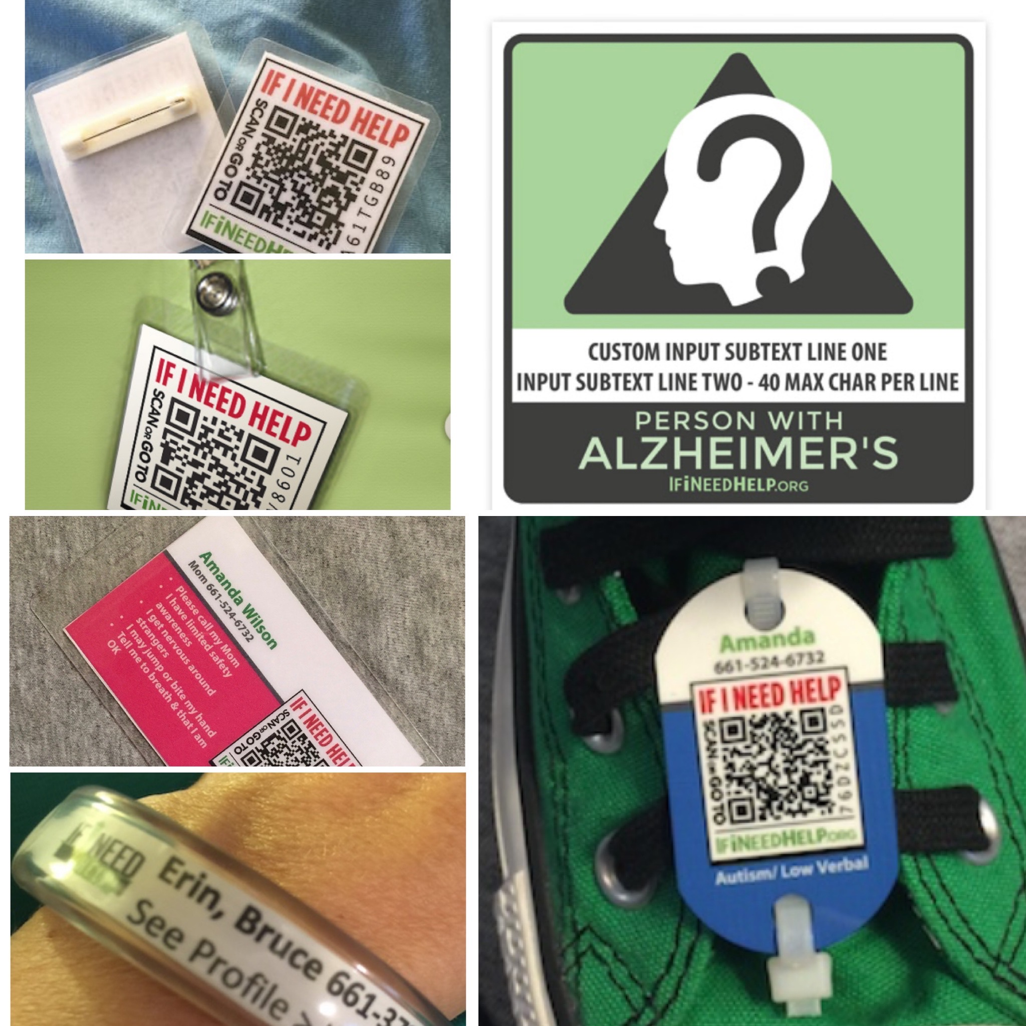 Alzheimer's Safety iD Kit