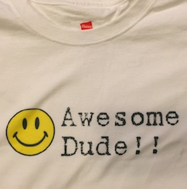 Awesome Dude Child Medium