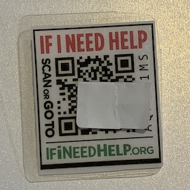 QR Code iD Pin discounted