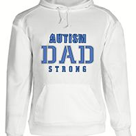 Autism Dad Strong Hoodie 2