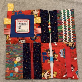 Dog Fidget Blanket-Patch