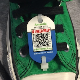 Custom Shoe Tag