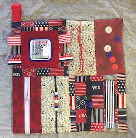 USA Fidget Blanket-Patch
