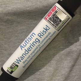 Autism Seat Belt Alert discounted