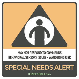 Special Needs Sticker