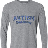 Autism Dad Strong Long Sleeve 3