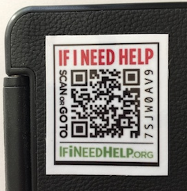 Medium QR Code Sticker