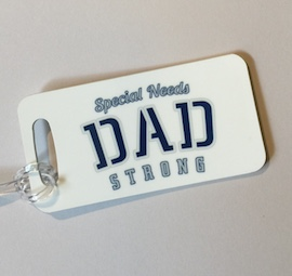 Special Dad Bag Tag