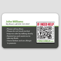 Custom iD Card magnet