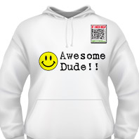 Awesome Dude Hoodie