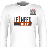 If i Need Help Logo Long Sleeve