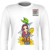 Dragonfly Girl Long Sleeve