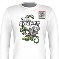 Skull Rocket Long Sleeves