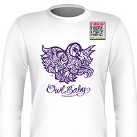 Owl Baby Purple Long Sleeves