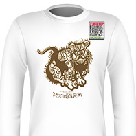 DoodleLion Brown Long Sleeves