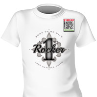 Rocker No.1972 T-shirt