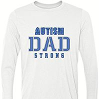 Autism Dad Strong Long Sleeve 2