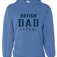 Autism Dad Strong Hoodie 1