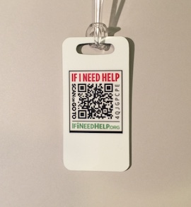 Coded Bag Tag