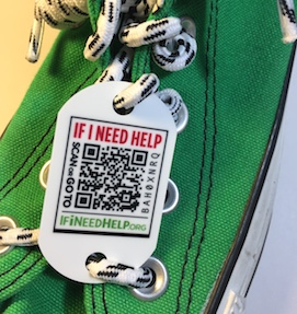 Tieless shoe laces Tag