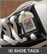 featured-item ID shoe tags