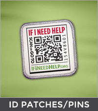 featured-item ID patches and pins